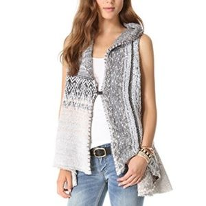 Free People In Your Arms Cardigan Vest Medium